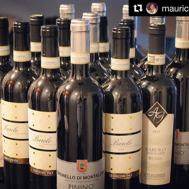 Italian wines with Barolo TerredaVino thanks mauricesare
