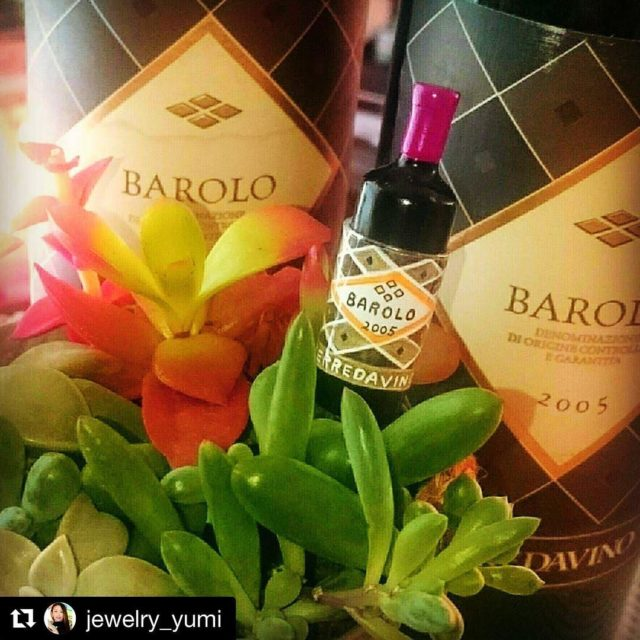 Nice post with our Barolo TerredaVino thanks jewelryyumi